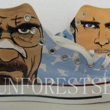 CREYUG7 Breaking Bad/converse/hand painted shoes/canvas shoes