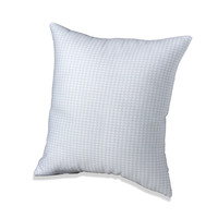 Seafoam Mini-Houndstooth Accent Pillow