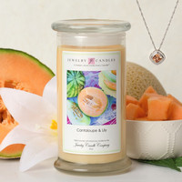 Cantaloupe & Lily Soy Jewelry Candle