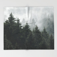 Waiting For Throw Blanket by Tordis Kayma | Society6