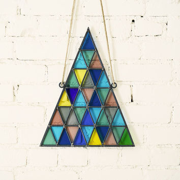 Stained Glass Triangle