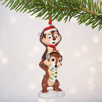 Disney Store 2016 Chip and Dale Sketchbook Christmas Ornament New with Tags