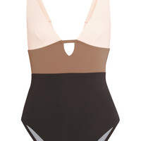 Color-block cutout swimsuit | Iris and Ink | US | THE OUTNET