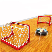 Indoor Kids Sports Toy Air Power Soccer Disk Latest Indoor Game LED Electric Suspension Pneumatic Football Toy For Children