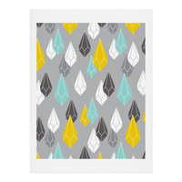 Heather Dutton Raining Gems Whisper Art Print