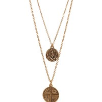 Bee Charming Jewelry Fire Double Elements Necklace