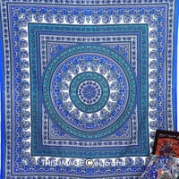 LARGE Paisley mandala tapestry,indian tapestry bohemian bedspread,hippie bedding, indian bedding,mandla throw, beach throw, dorm tapestry