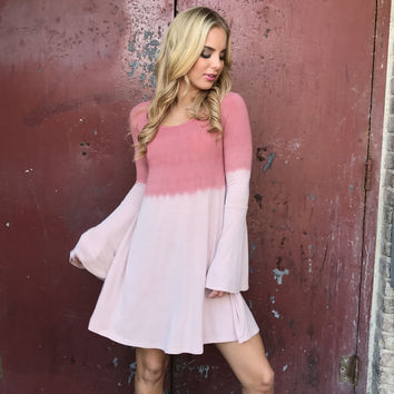 All Year Around Ombre Dye Dress
