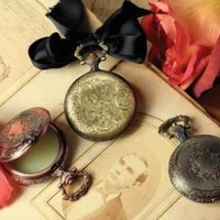 Victorian trading Co. - www.victoriantradingco.com - Solid Perfume in a Pocket Watch