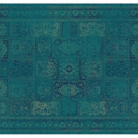 Tracy Rug, Turquoise, Area Rugs