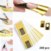 100pcs/roll Nail Art Extension Sticker