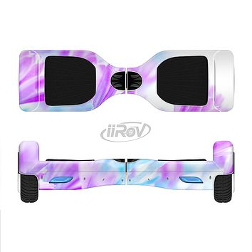 The Vibrant Blue & Purple Flower Field Full-Body Skin Set for the Smart Drifting SuperCharged iiRov HoverBoard
