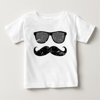 incognito - funny mustache and cool shades shirt