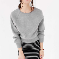BDG Double Knit Raglan Pullover Sweatshirt - Urban Outfitters
