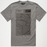Fox Necro Mens T-Shirt Heather  In Sizes