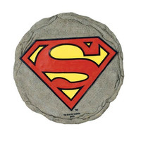 Spoontiques Superman Logo Stepping Stone