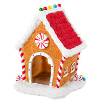 Top Fin® Gingerbread House Aquarium Ornament