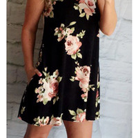 Country Cruise Floral Dress