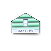Stay Home Pin