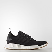 Adidas NMD_R1 Primeknit [BY1887] Men Casual Shoes Black/White-Gum