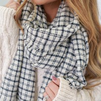 Warm Embrace Scarf - Ivory