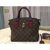 LV Hot-selling Printed Women's Shopping Bag Single Shoulder Bag with High Quality