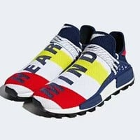 Pharrell x BBC x Adidas NMD Hu Heart Mind joint casual sports running shoes