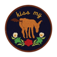 Kiss My A** Patch