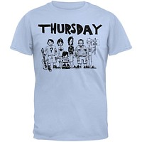Thursday - Band Drawing T-Shirt