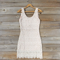 Early Snow Lace Dress