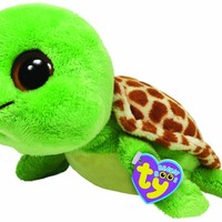 "Ty Beanie Boos Sandy Turtle 9"" Plush"