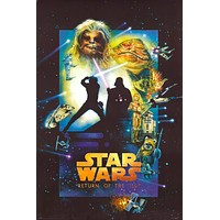 Star Wars Return of the Jedi Special Edition Poster 24x36