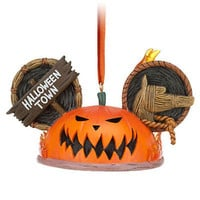 disney the nightmare before christmas pumpkin king ear hat ornament new with tag