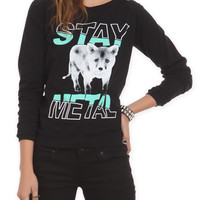 Miss May I Fox Girls Pullover Top | Hot Topic