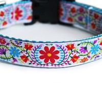 Joyful Blooms Dog Collar