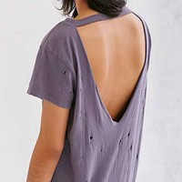 Truly Madly Deeply Super-Distressed Tee Dress-