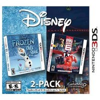Disney® Frozen: Olaf's Quest and Big Hero 6: Battle in the Bay Nintendo 3DS