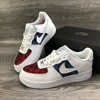 Gucci x Nike Air Force 1 low-top sports running shoes