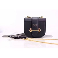 PRADA WOMEN'S SAFFIANO LEATHER CHAIN SHOULDER BAG
