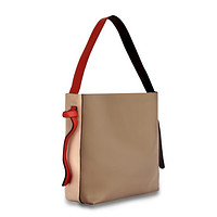 Versa Leather Tote - Grey/Tan