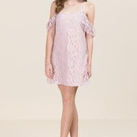 Sienna Two Tone Lace Shift Dress