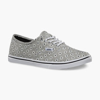 VANS Chambray Floral Authentic Lo Pro Womens Shoes | Sneakers