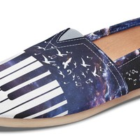 Space Piano Casual Shoes