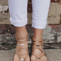 Path of the Warrior Sandal - Natural