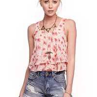 Lush Double Layer Tank at PacSun.com