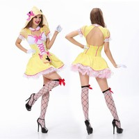 On Sale Cute Hot Deal Sexy Set Halloween Christmas Exotic Lingerie [8978897095]