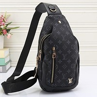 LV Women Leather Backpack Bookbag Daypack Satchel Tagre™