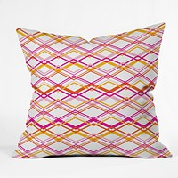 Heather Dutton Intersection Bright Outdoor Throw Pillow