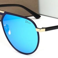 DIOR Women Men Fashion  Popular Summer Sun Shades Eyeglasses Glasses Sunglasses Red/Pink G-HWYMSH-YJ