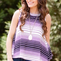 Veronica Stripe Top